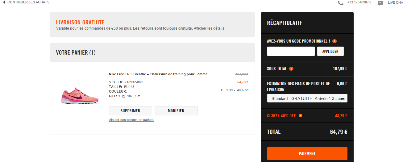 low priced cbf6f e5677 A propos de Nike