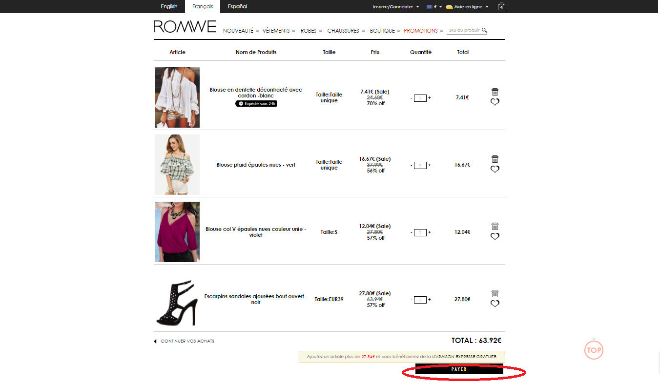 Romwe coupon codes 2018